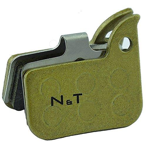 Noah And Theo NT-BP016/SI - Pastillas de freno de disco sinterizado para...