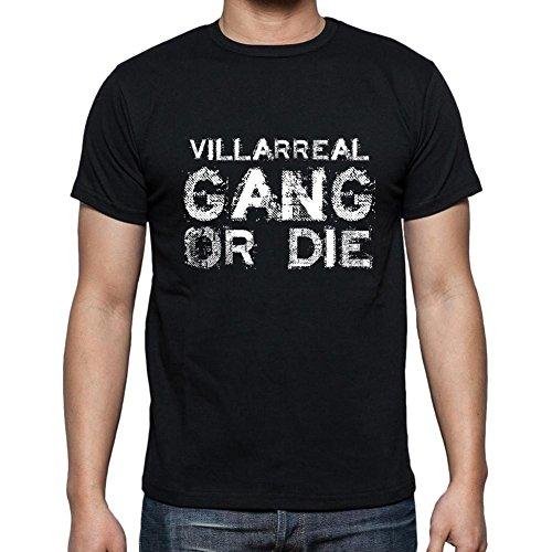Villarreal Family Gang, Camiseta para Las Hombres, Manga Corta, Cuello Redondo, Negro