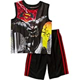 DC Comics Batman Versus Superman Big' Boys Shorts Pajamas Set Dawn of Justice (6-7)