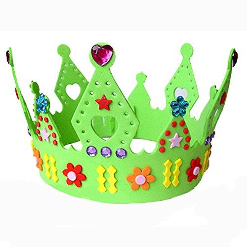 Blancho Handmade Hat Creative Sun Hat Birthday Hat Nursery Couronne EVA Enfants