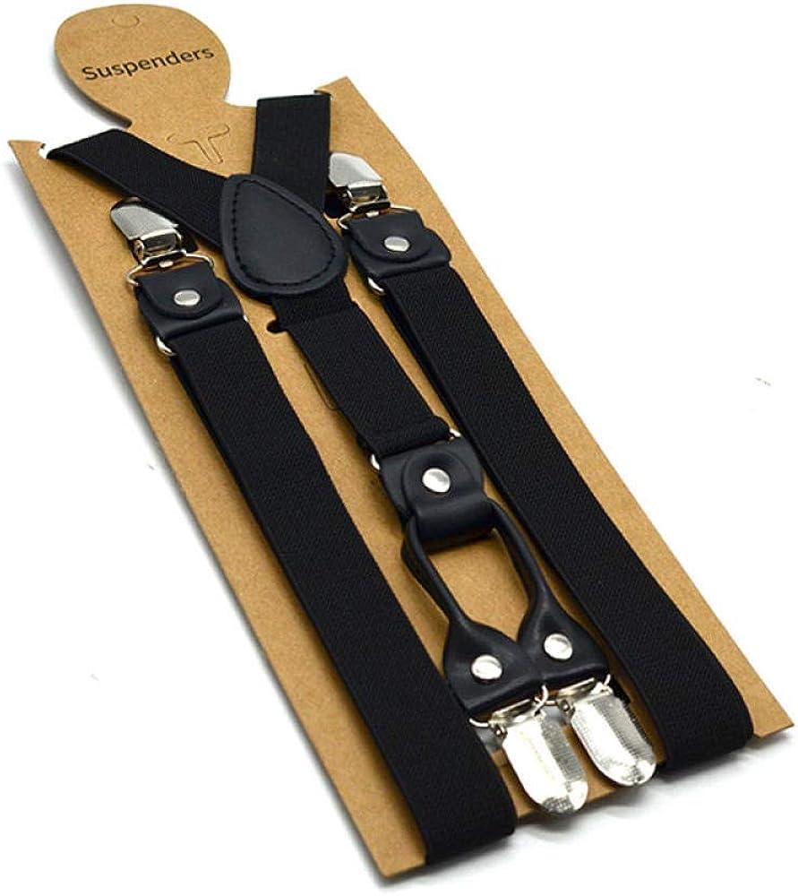 Men Classic Pants Strap Y Back Suspenders Male Suspender Belt Casual Retro Trouser Elastic Braces