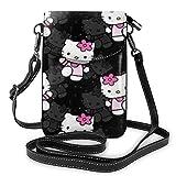 XCNGG Monedero pequeño para teléfono celular Winnie The Pooh Cell Phone Purse Shoulder Bag Travel Daypack Women Girls Party Gift