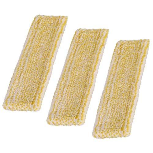 Heritan 3 piezas de repuesto de microfibra Swipping Mop Pad para aspiradora de ventana Karcher WV2 WV5