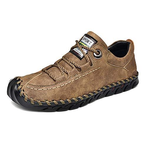 JMAR Calzado De Caminata para Hombre,Zapatos Casuales Transpirables para Caminar, Zapatos Casuales para Hombres, Zapatos Ligeros Hechos A Mano De Moda - Zapatillas Deportivas Ligeras para Caminar