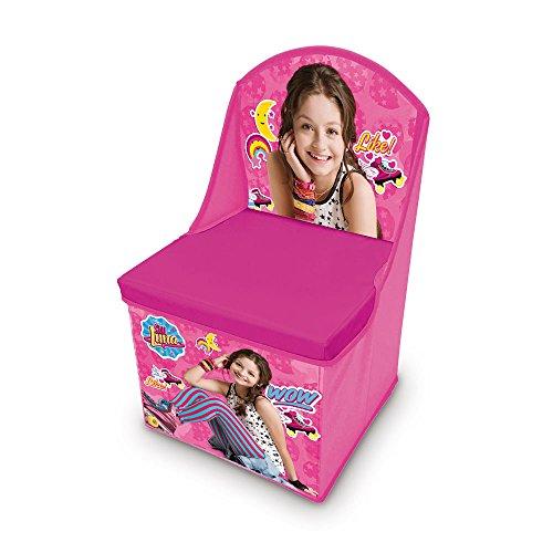 SOY LUNA Chaise Pliable de Rangement - Rose