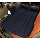 HAITRAL Car Travel Inflatable Mattress Portable Air Bed Cushion Camping with Two Air Pillows
