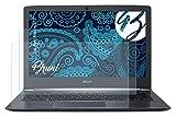 Bruni Schutzfolie kompatibel mit Acer Aspire S13 Folie, glasklare Bildschirmschutzfolie (2X)