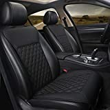 Black Panther 1 Pair Car Seat Covers, Luxury Car Protectors,...