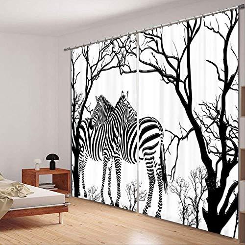 cortinas habitacion zebra