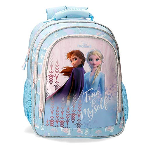 Disney Mochila Frozen True To Myself 38 cm, Azul