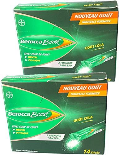 Berocca Boost Guarana, Sticks ohne Wasser, 2 x 14 Sticks