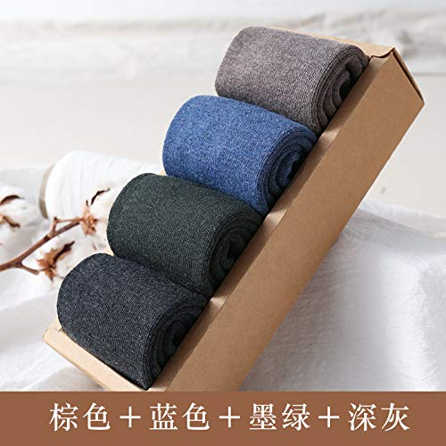 Zhaoaiqin herenbuis puur verdikking Terry Warm Viejo katoen zwart handdoek code bruin blauw donkergroen donkergrijs