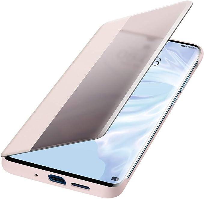 LEMAXELERS Coque Huawei P30 Pro,Portefeuille Etui Housse pour Huawei P30 Pro Coque Gaufrage Paillette Diamant Hibou PU Cuir Flip Wallet /Étui Coquille Couverture pour Huawei P30 Pro,YK Owl Brown