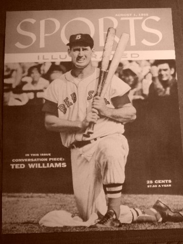 Rons Past and Present Ted Williams 1955 Sports Illustrated Cover