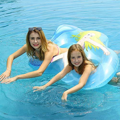 SYYCY Aigao Círculo inflable de natación, Círculo de natación, interacción madre-madre, juego acuático, juguete para padres e hijos