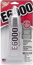 E-6000 Adhesive Metal, Glass, Fiberglass Masonry And Concrete Clear Carded 2 Oz