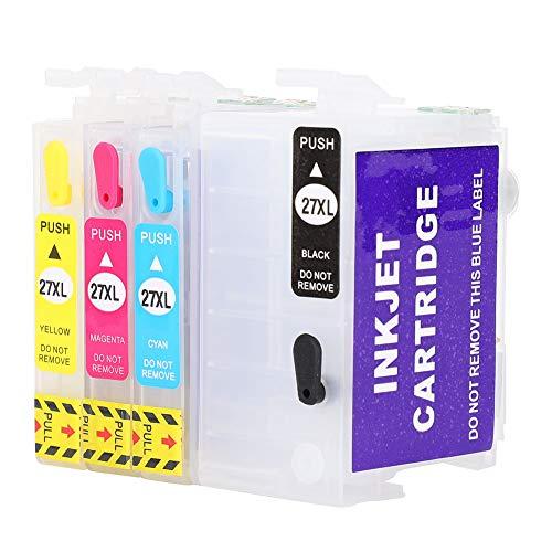 1 Juego de Cartuchos de Tinta, Accesorios de Impresora para 271XL WF7610 3640 7110 7210 7710