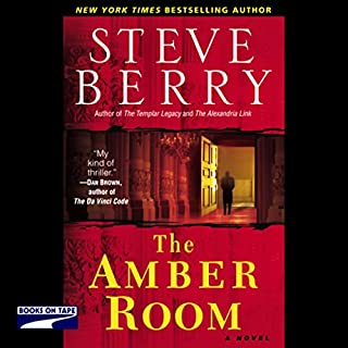 The Amber Room audiobook cover art