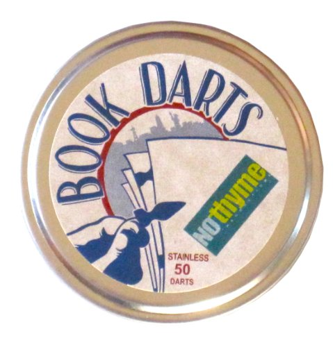 Book Darts 50 Stainless Steel Line Markers by Book Darts