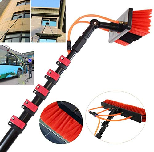 WERFFT Photovoltaik-Panel Reinigung/Fenster reinigen Photovoltaik-Panel Reinigung/Ausziehbare Reiniger Conservatory Roof Cleaning Tools 9M,3.6m