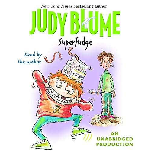 Superfudge Audiobook By Judy Blume cover art