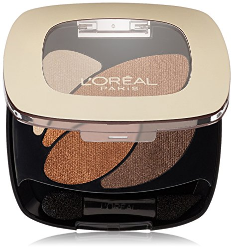 L'Oréal Paris Colour Riche Dual Effects Eye Shadow, Treasured Bronze, 0.12 oz.