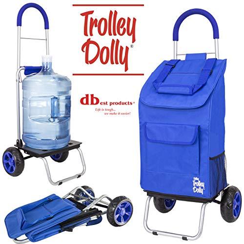 dbest Productos Trolley Dolly, Azul