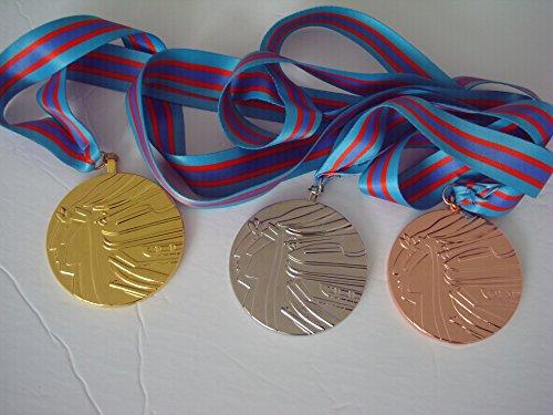 Olympics 1988 Calgary Souvenir Sports Medals Set (Gold/Silver/Bronze) l
