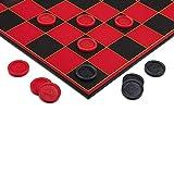 Point Games Damas Super Durable Board-Divertido Juego de Mesa para Interiores y Exteriores...