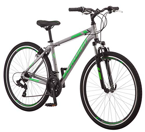 Schwinn GTX Comfort Hybrid Bike, GTX 1, 18-Inch Frame, Grey (S2782E)