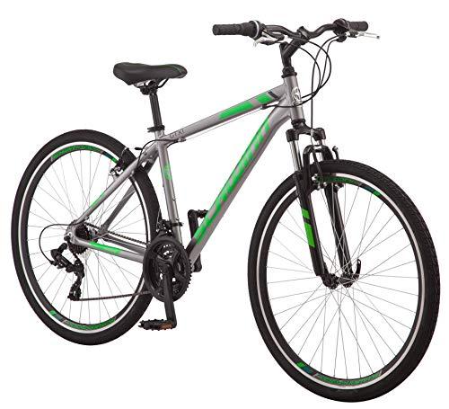 Bicicletta ibrida Schwinn GTX Comfort, GTX 1, telaio da 18 pollici, grigio (S2782E)