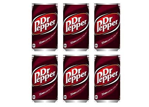 ドクターペッパー350ml×6缶(コカコーラ)