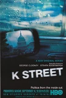 K Street Movie Poster (27 x 40 Inches - 69cm x 102cm) (2003) -(Mary McCormack)(John Slattery)(James Carville)(Mary Matalin)