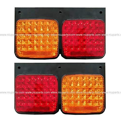 LED Tail Lamp Amber/Red - Driver & Passenger Side (Fit: Nissan UD 1800, UD 2000, UD 2300, UD 2600, UD 3300 Trucks)