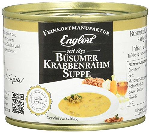 ENGLERT Büsumer Krabbenrahmsuppe/Dose, 3er Pack (3 x 200 ml)