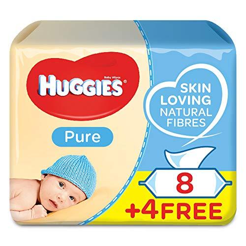 Huggies Toallitas para bebe, 4 paquetes de 168 piezas