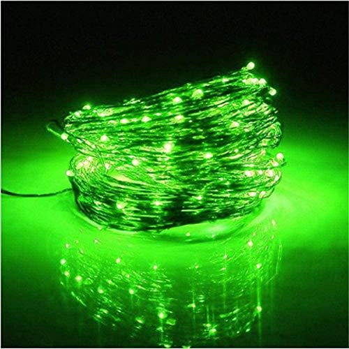Lumières solaires 300 Lampes solaires Guirlandes LED rouge fil de cuivre de lumières, étoile lumières extérieurs for la maison Décoration-Blue_32 Lumières Aquarelle Lumières Jardin Meters 300 lumières