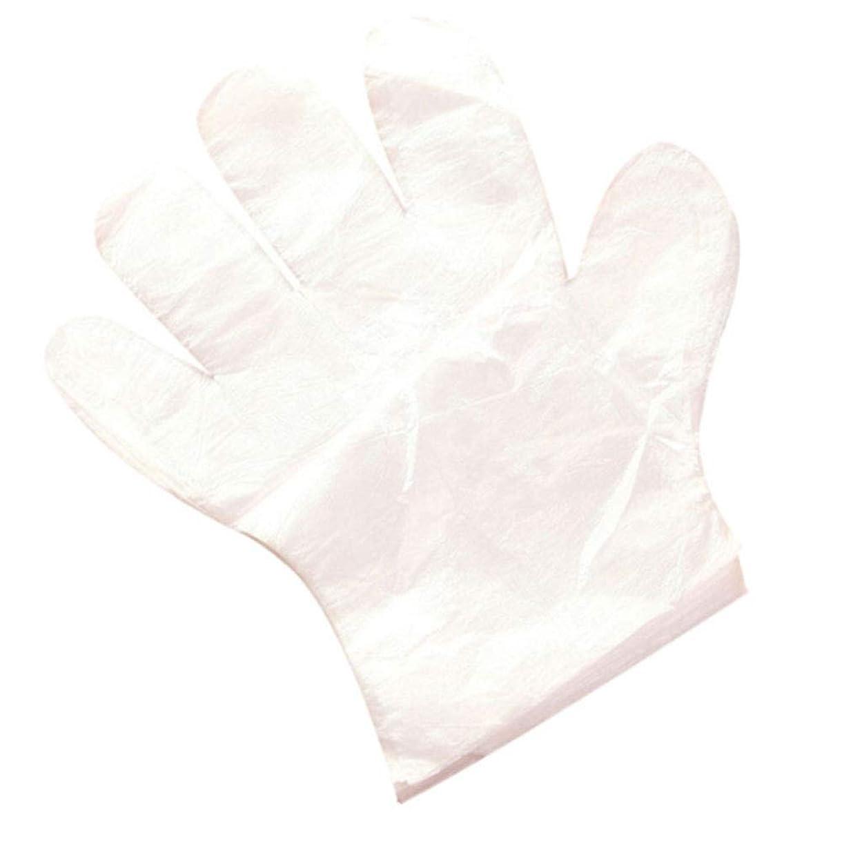 テープアカデミックより多い家庭用家庭の清掃および衛生用使い捨て手袋を食べる使い捨て手袋 (UnitCount : 500only)