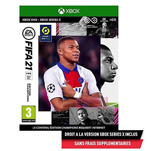 FIFA 21 Edition Champions (Xbox One) - Version Xbox Series X incluse