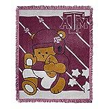 Texas A&M Aggies Baby Woven Jacquard Throw Blanket, 36' x 46'