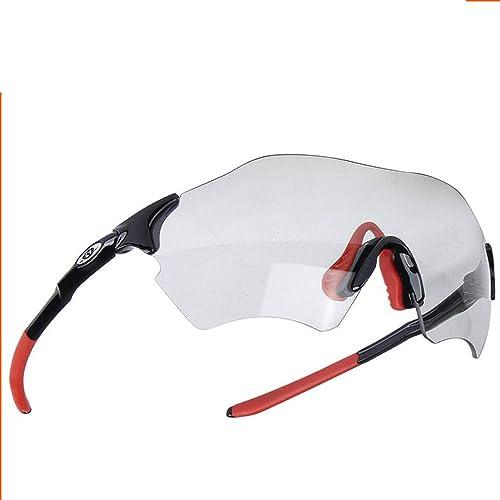 LCPG Lunettes de Soleil Transparentes de Couleur Intelligente pêchant Le Camping extérieur de Ski dans Le Tour Sauvage