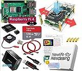 Raspberry Pi 4B (4GB) Server エキスパートセット (Sandisk Ultra 128GB, Anker 3.6A電源, Digital USB Cablae, Cooling FAN Case.)