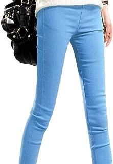 FSSE Womens Leggings Pants Stretch Skinny High Waist Pencil Pants Trousers