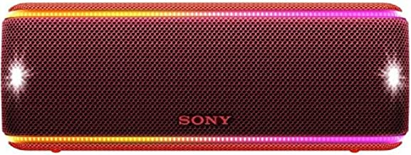 Sony SRS-XB31 Portable Wireless Bluetooth Speaker, Red (SRSXB31/R)