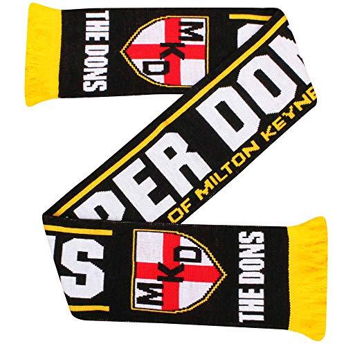 MK Dons Fußball-Fans Schal, 100% Acryl
