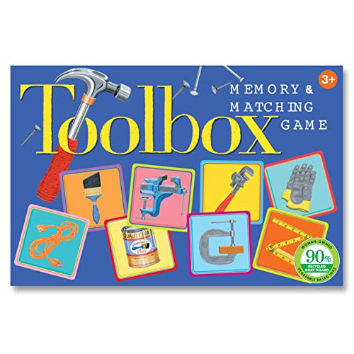 eeBoo Toolbox Little Memory Matching Game for Kids, Ages 3 Years and Up