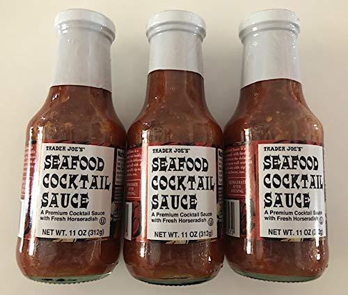 Trader Joe's Seafood Cocktail Sauce 11 oz (Pack of 3)