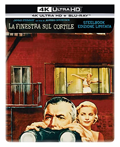 La Finestra Sul Cortile Stelbook (4k Ultra HD + Blu-Ray) (2 Blu Ray)