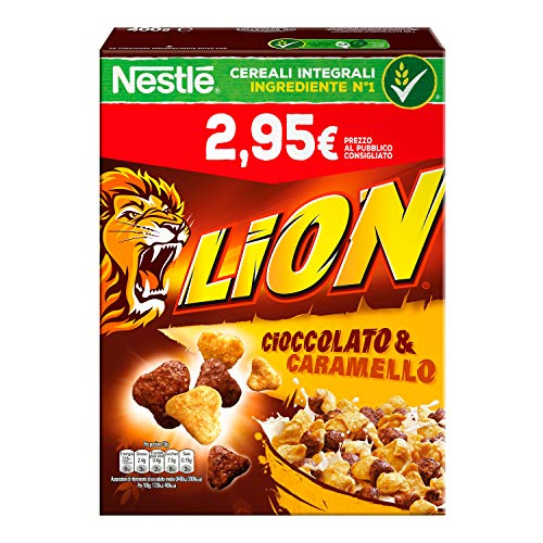 Nestlé Lion Cereali al Cioccolato e Caramello, 400 g