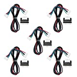 Gancon 5pcs/Set Impresora 3D MKS CD Controlador de Motor Paso a Paso Placas de expansión Actuales con Cables